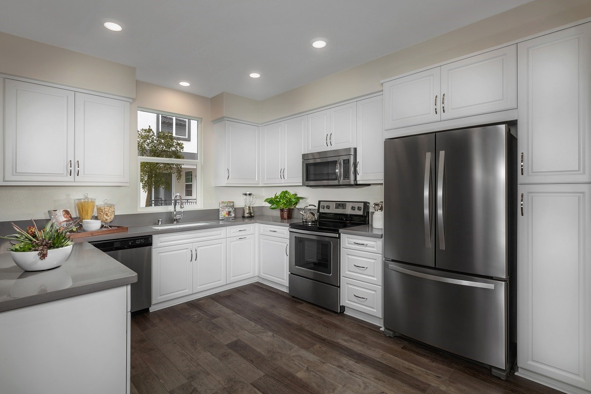 New Homes in San Marcos, CA - Mission Villas - Mission Terrace Residence Four - Kitchen