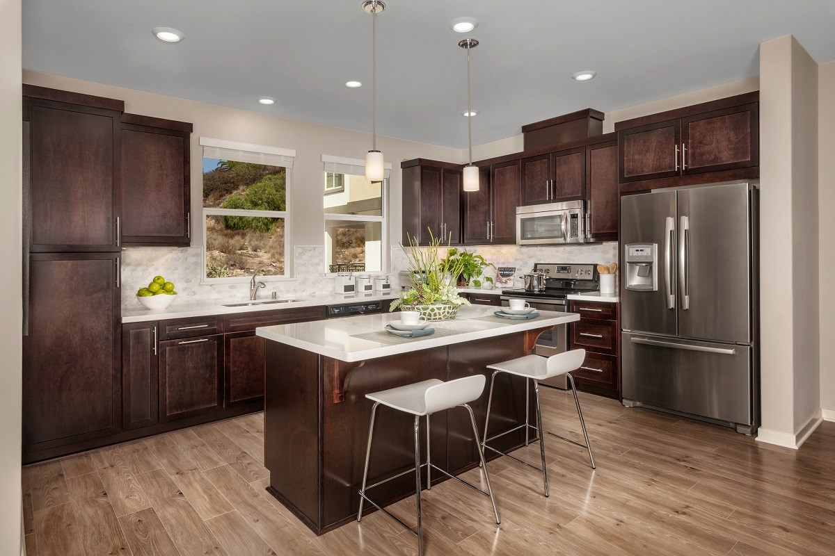 New Homes in San Marcos, CA - Mission Villas - Mission Terrace Residence Five - Kitchen