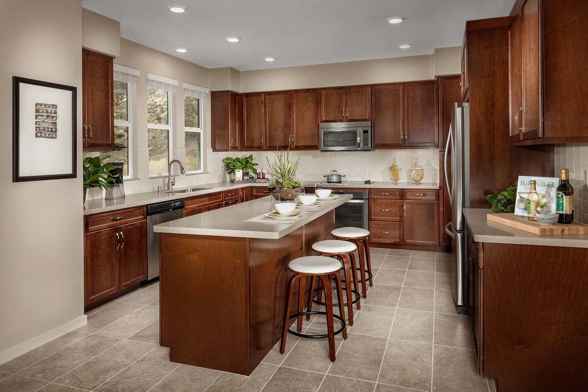 New Homes in San Marcos, CA - Mission Villas - Mission Terrace Residence Six - Kitchen