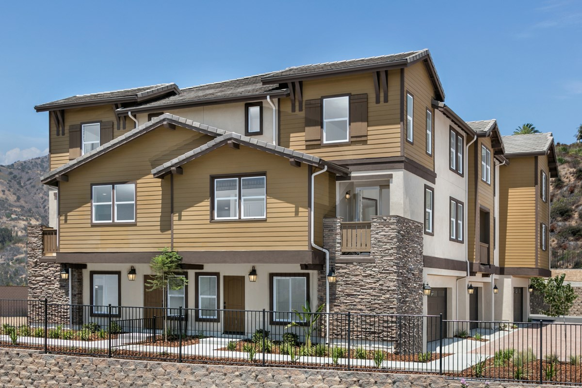 New Homes in San Marcos, CA - Mission Villas - Mission Terrace Exterior Elevation