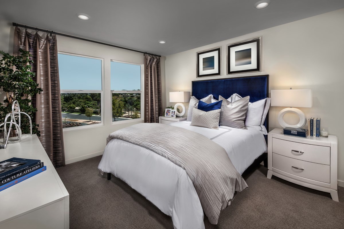 New Homes in San Marcos, CA - Mission Villas - Mission Terrace Residence One - Master Bedroom