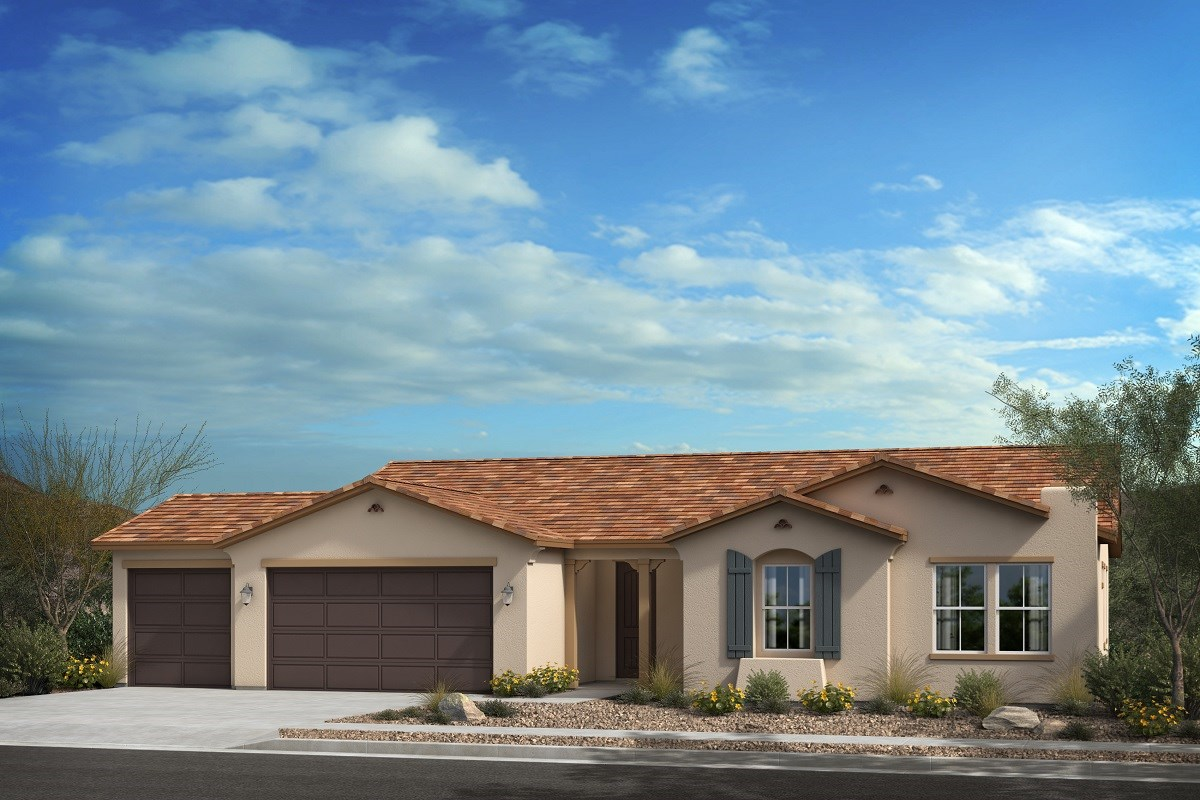 New Homes in Escondido, CA - Oak Creek Residence One - 'A' Elevation