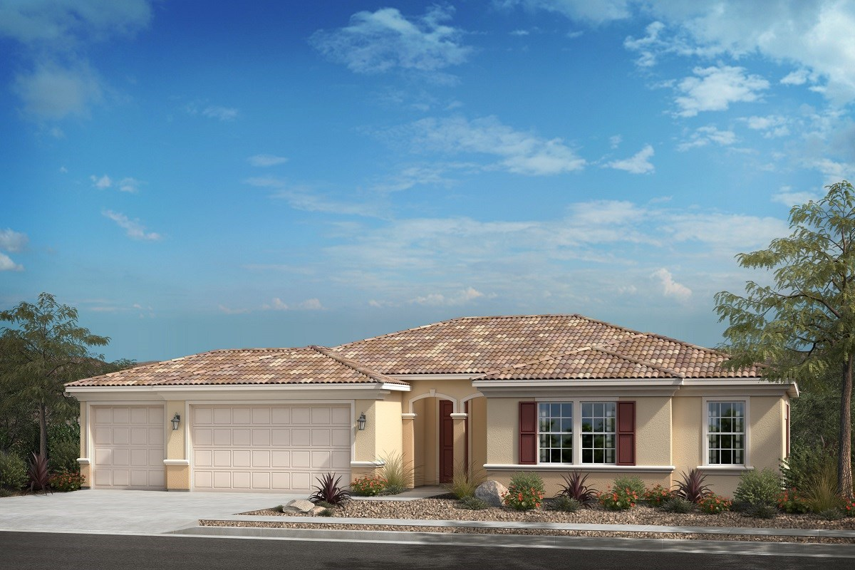 New Homes in Escondido, CA - Oak Creek Residence One - 'B' Elevation