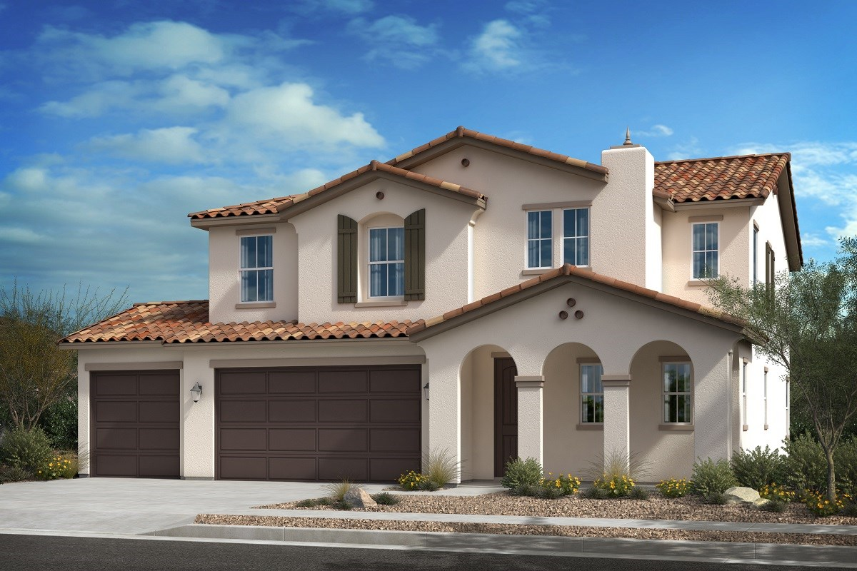 New Homes in Escondido, CA - Oak Creek Residence Three - 'A' Elevation