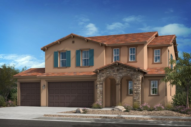 New Homes in Escondido, CA - 'C' Elevation