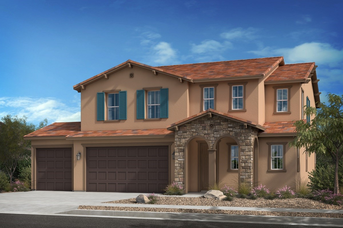 New Homes in Escondido, CA - Oak Creek Residence Three - 'C' Elevation