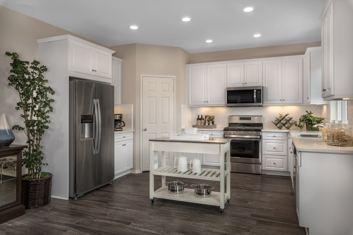 New Homes in San Diego, CA - Parkview Terrace Residence One Kitchen
