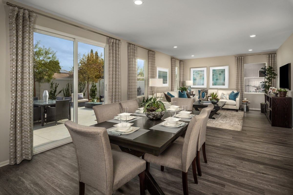 New Homes in San Diego, CA - Parkview Terrace Residence One Great Room