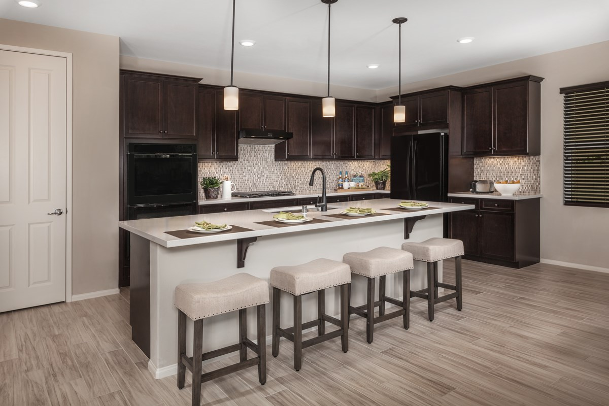 New Homes in San Diego, CA - Parkview Terrace Residence Two Kitchen