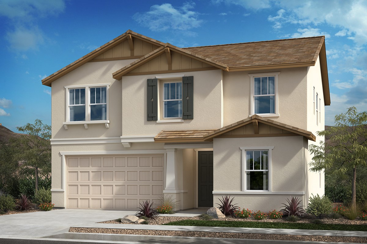 New Homes in San Diego, CA - Parkview Terrace Residence One 'B'