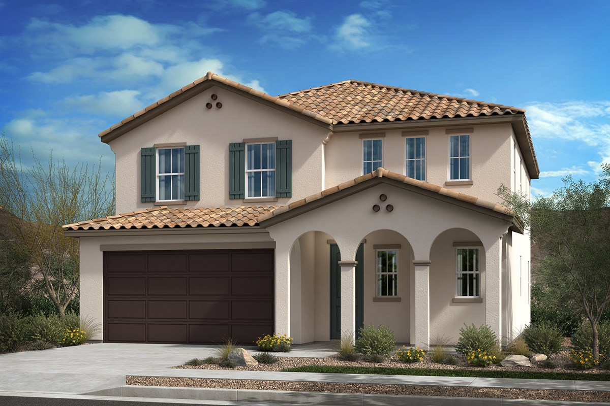 New Homes in San Diego, CA - Parkview Terrace Residence Two 'A'