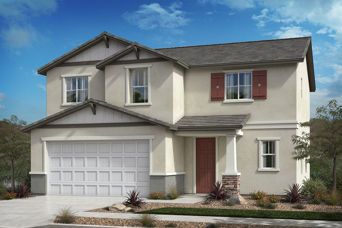 New Homes in Santee, CA - Prospect Fields Residence One - Craftsman 'B'