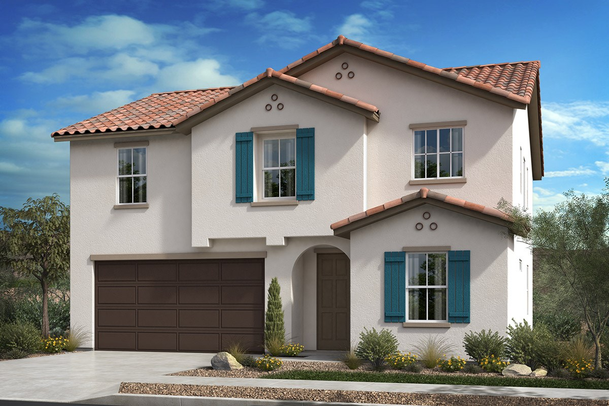 New Homes in Santee, CA - Prospect Fields Residence Three - Spanish 'A'