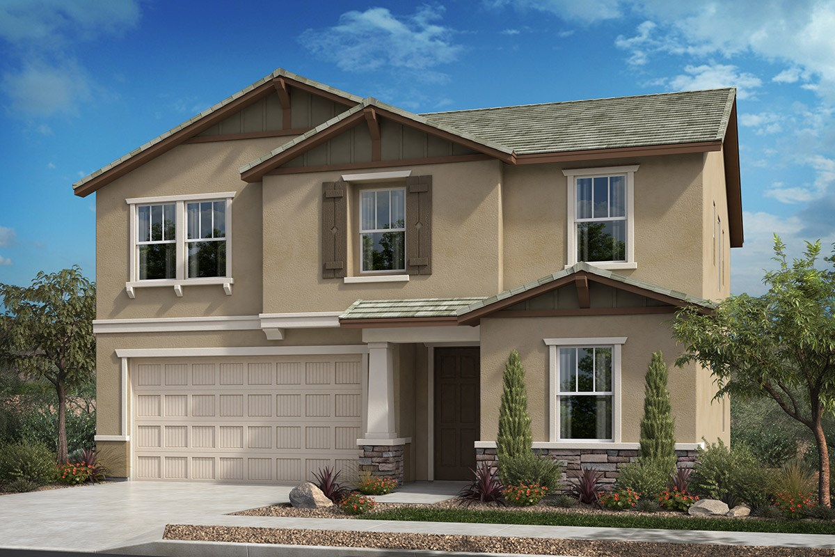 New Homes in Santee, CA - Prospect Fields Residence Three - Craftsman 'B'