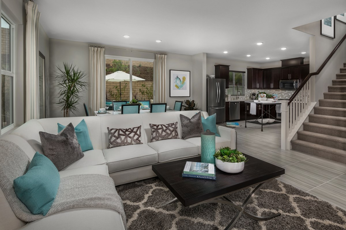 New Homes in Santee, CA - Prospect Fields Residence One Great Room