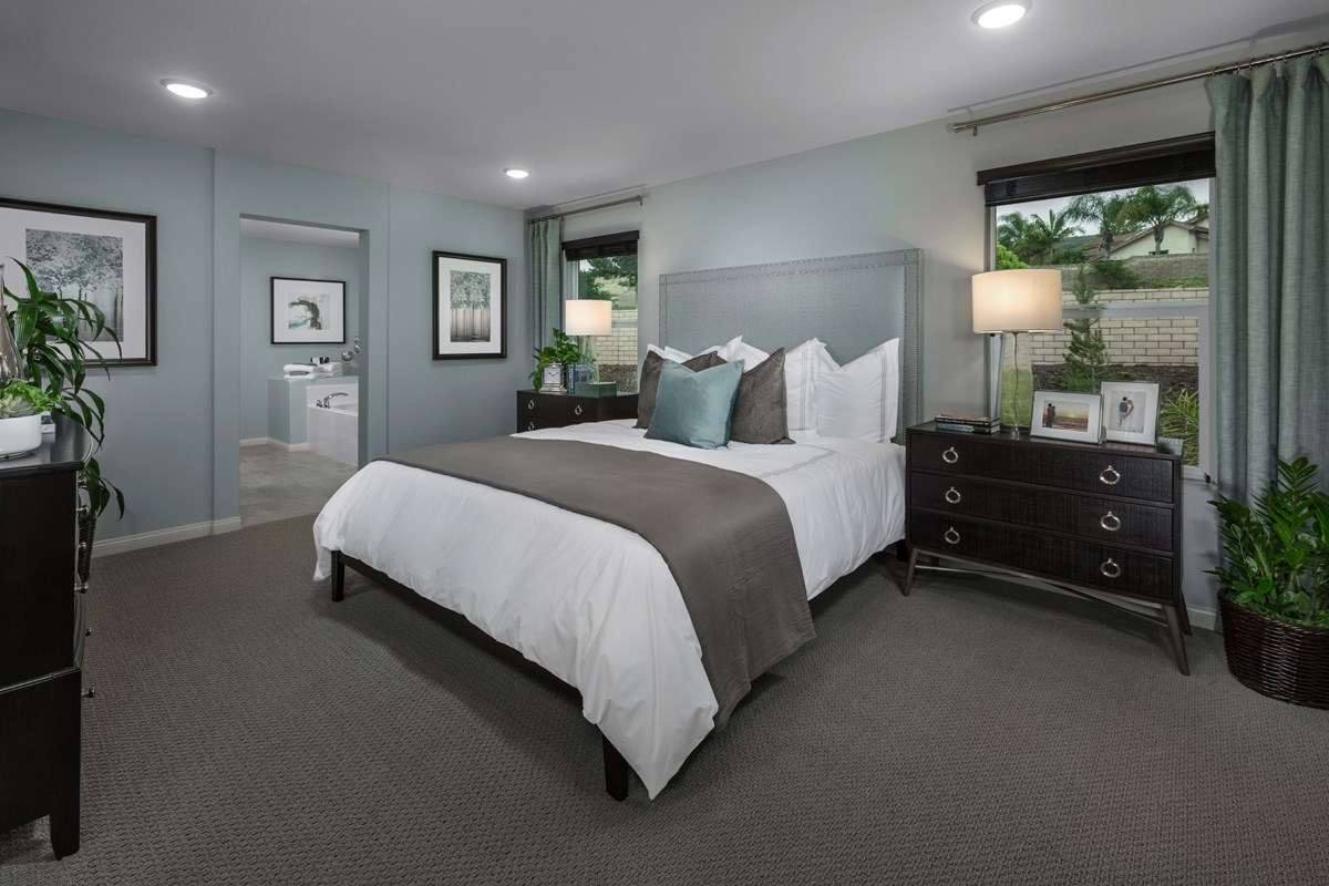 New Homes in Santee, CA - Prospect Fields Residence One Master Bedroom