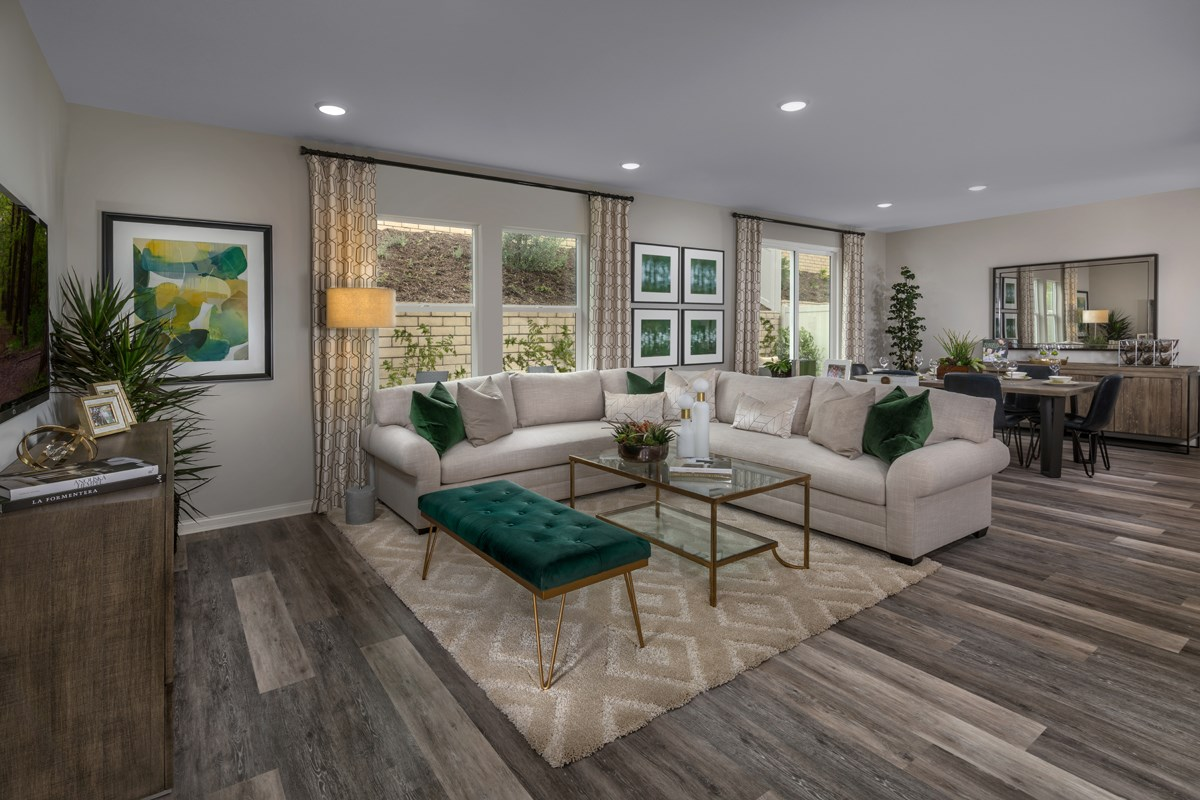 New Homes in Santee, CA - Prospect Fields Residence Two Great Room