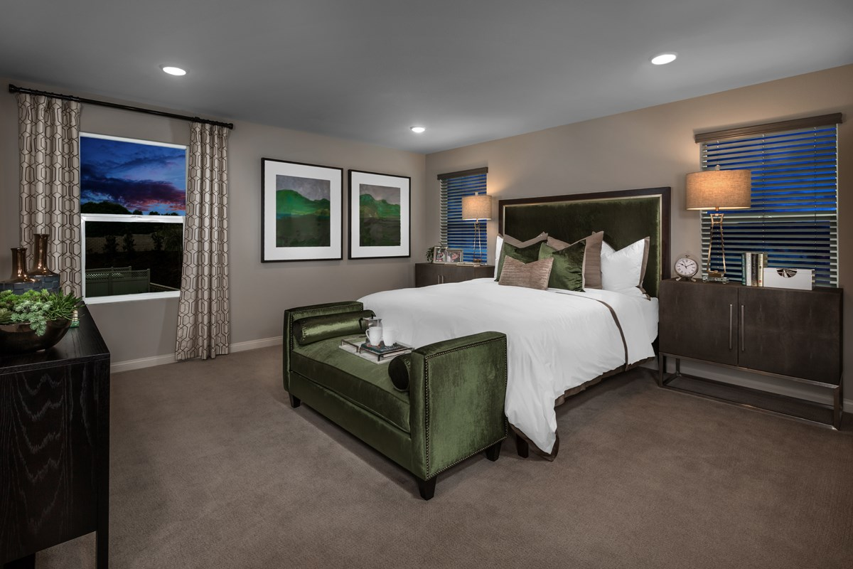 New Homes in Santee, CA - Prospect Fields Residence Two Master Bedroom