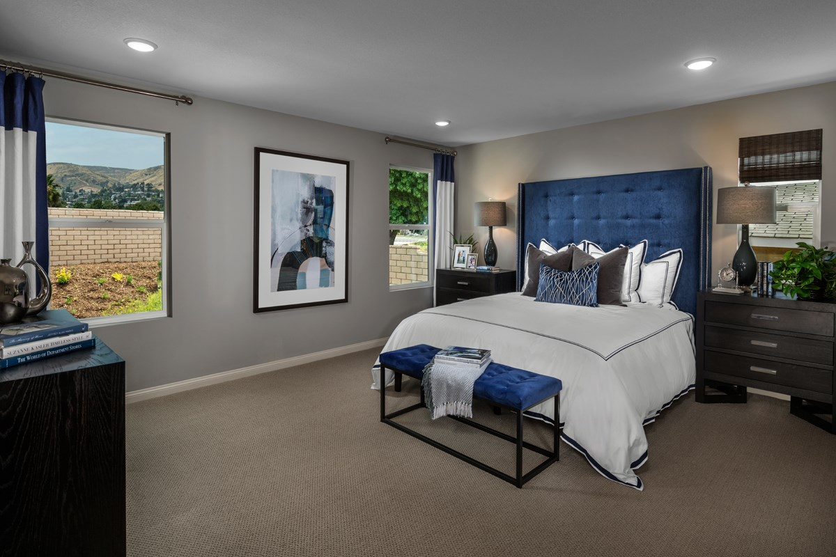 New Homes in Santee, CA - Prospect Fields Residence Three Master Bedroom