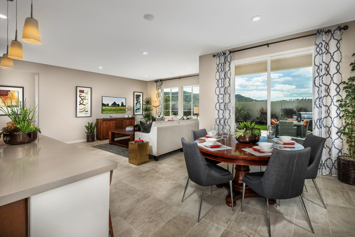 New Homes in Santee, CA - River Village Residence One Great Room
