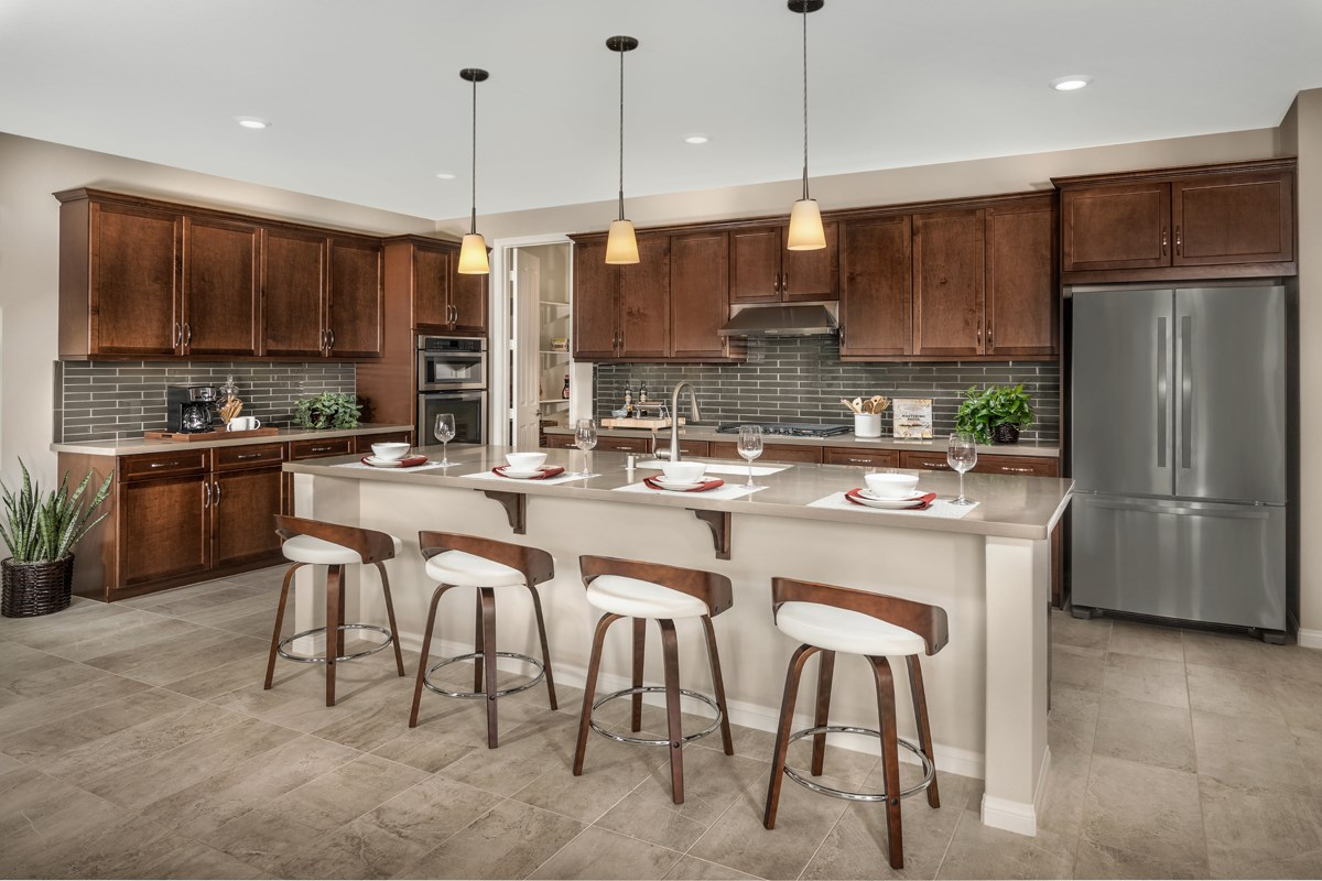 New Homes in Santee, CA - River Village Residence One Kitchen