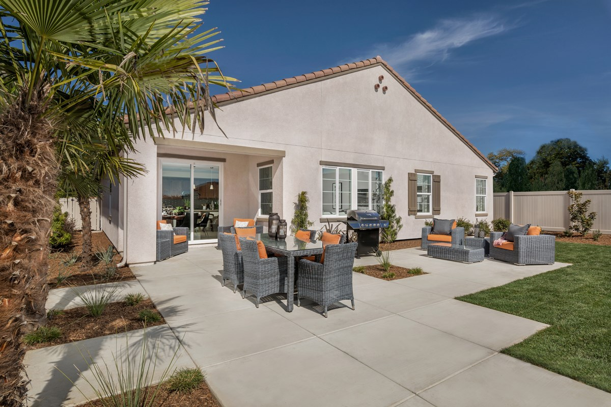New Homes in Santee, CA - River Village Residence One Patio