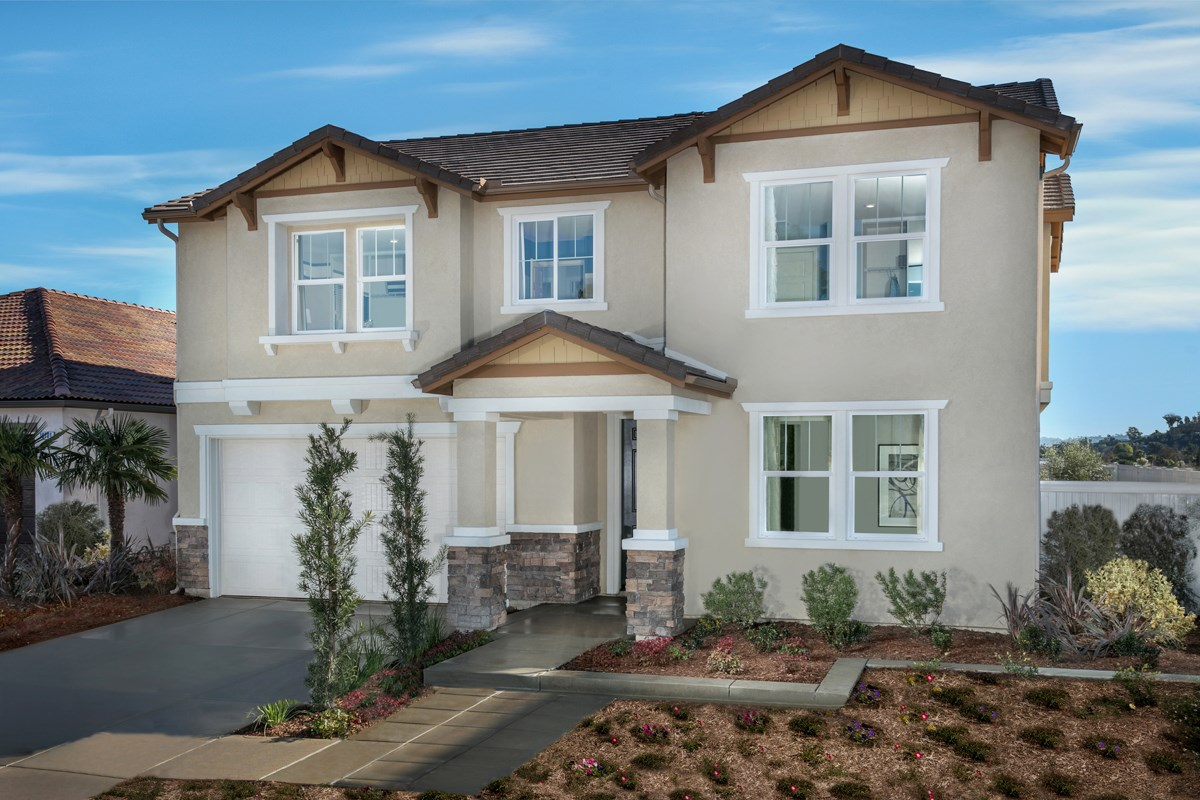 New Homes in Santee, CA - River Village Residence Two Exterior