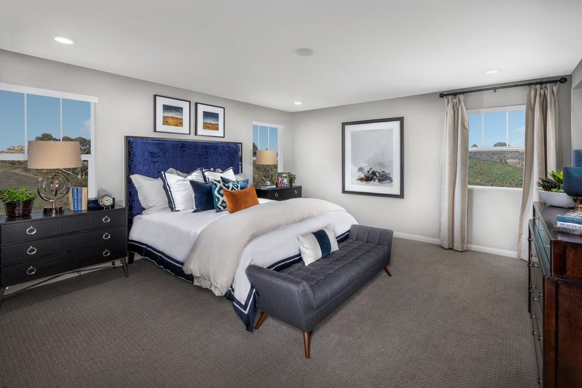 New Homes in Santee, CA - River Village Residence Two Master Bedroom