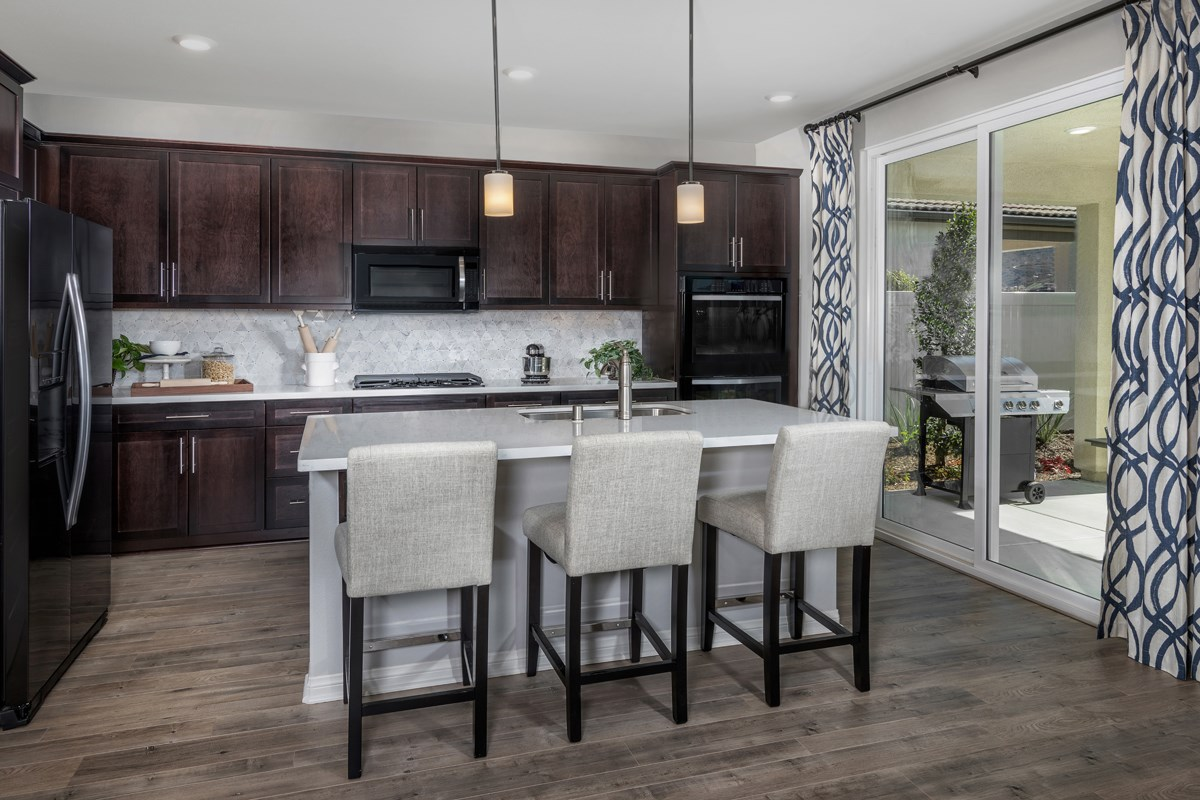 New Homes in Santee, CA - River Village Residence Two Kitchen