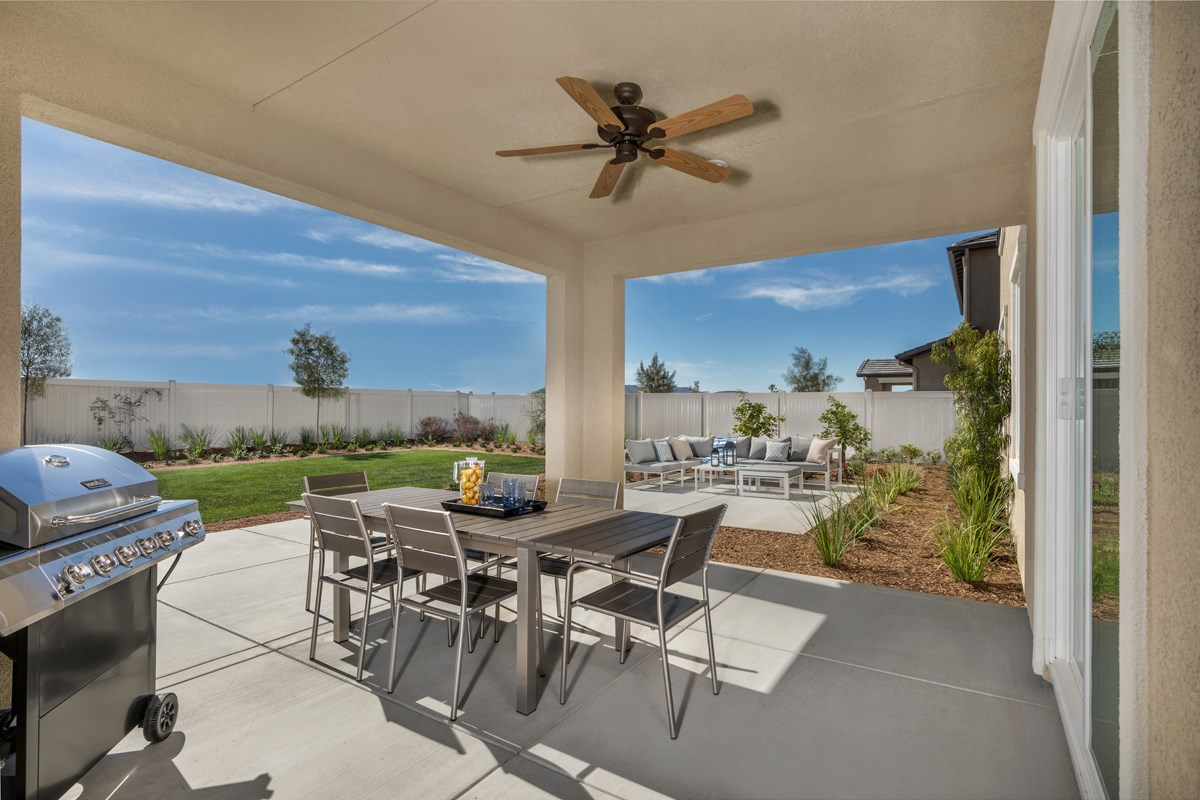 New Homes in Santee, CA - River Village Residence Two Patio