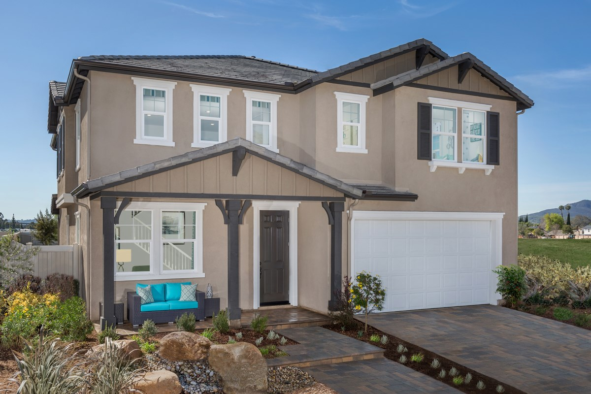 New Homes in Santee, CA - River Village Residence Three Exterior