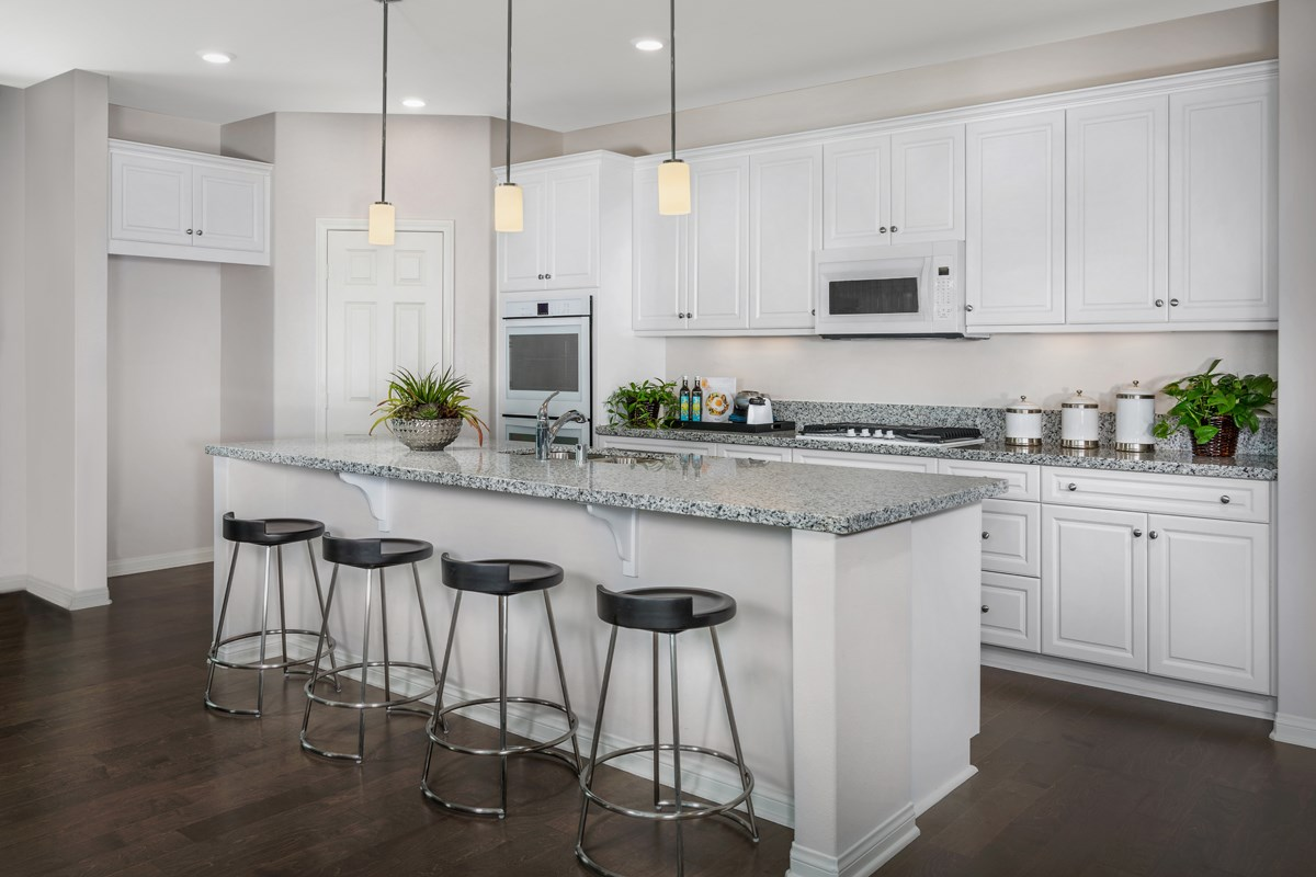 New Homes in Santee, CA - River Village Residence Three Kitchen
