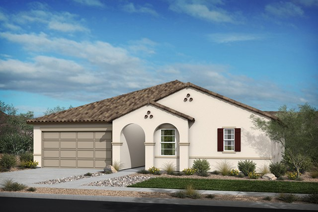 New Homes in Santee, CA - Elevation 'A' Spanish