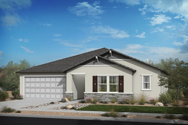 New Homes in Santee, CA - Elevation 'C' Craftsman