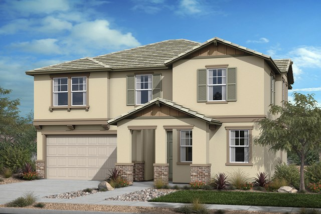 New Homes in Santee, CA - Elevation 'B' Cottage