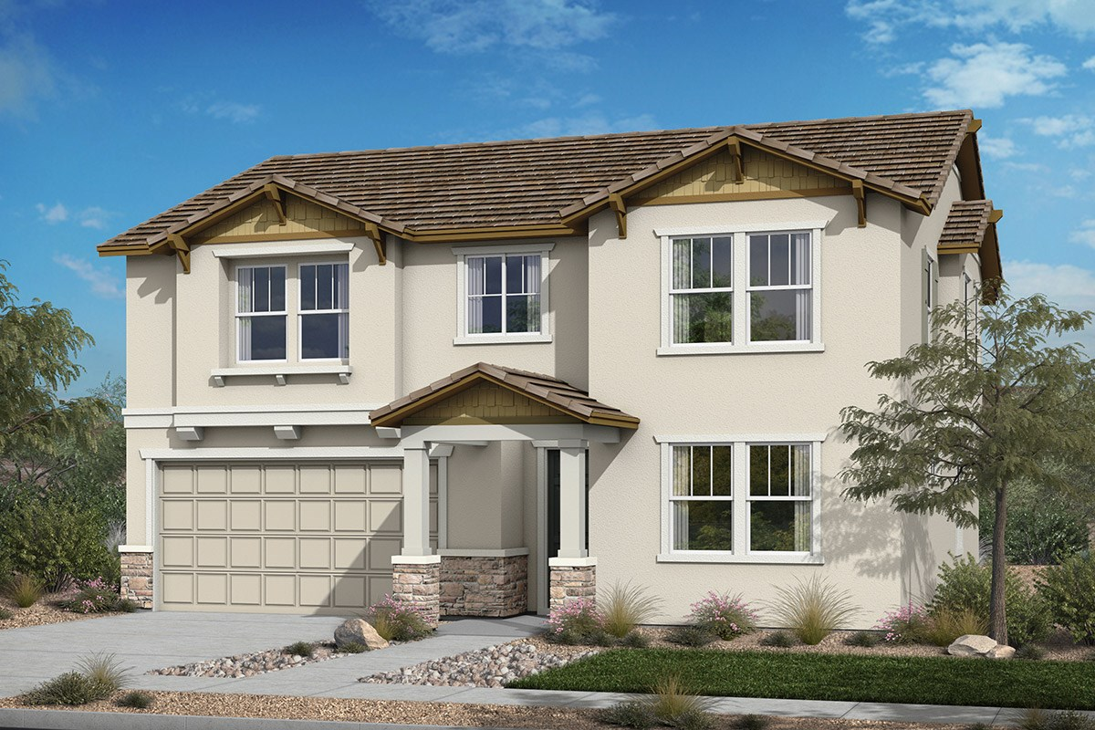 New Homes in Santee, CA - River Village Residence Two 'Craftsman'