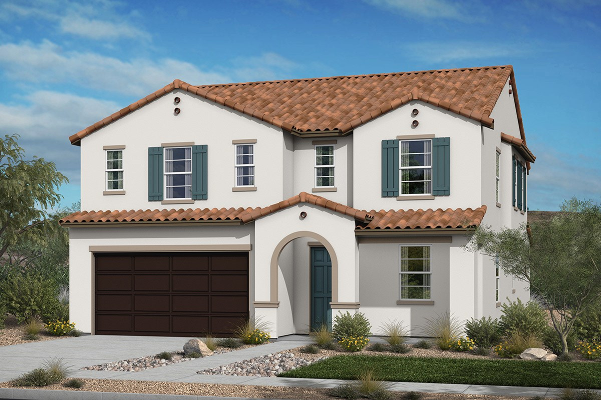New Homes in Santee, CA - River Village Residence Three 'Spanish'