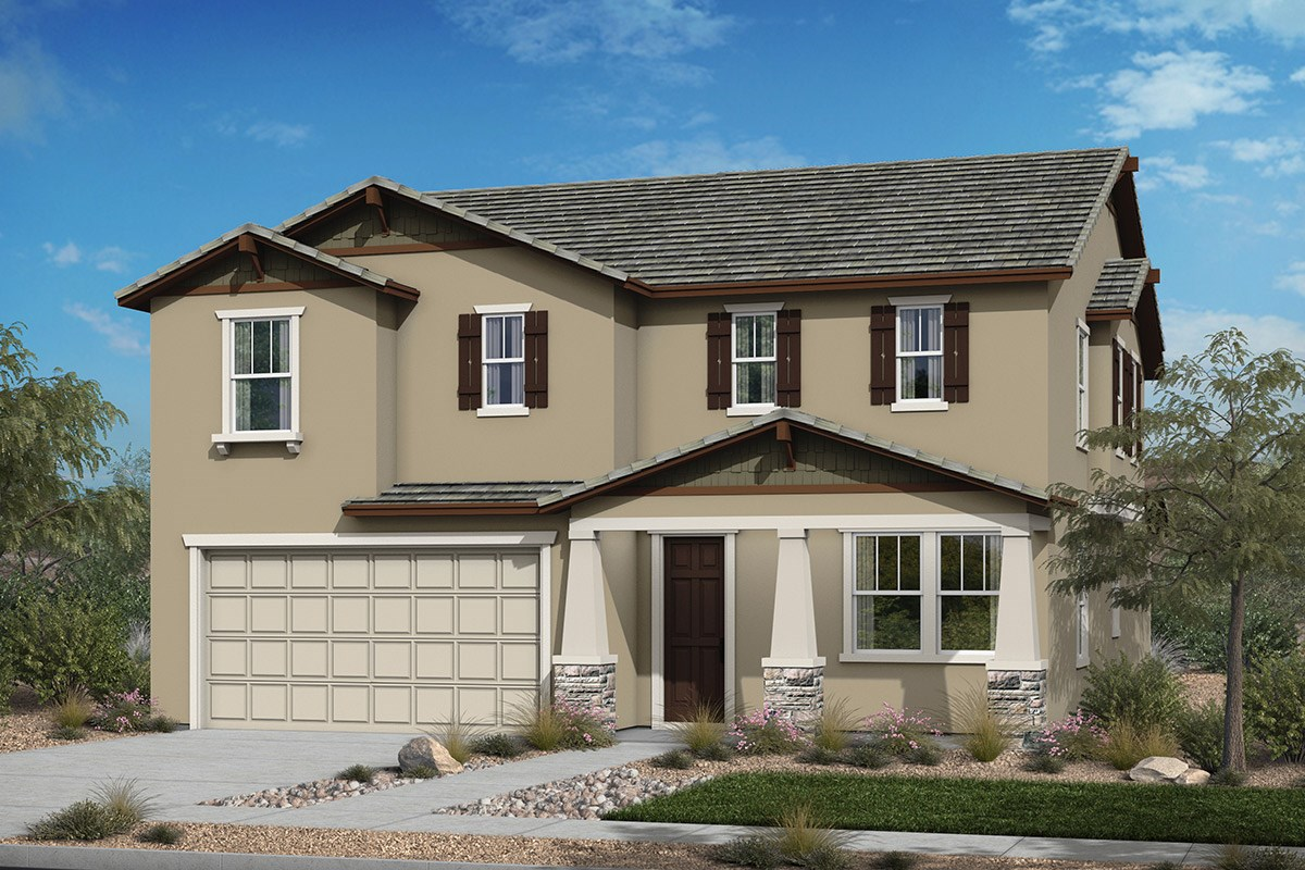 New Homes in Santee, CA - River Village Residence Three 'Craftsman'