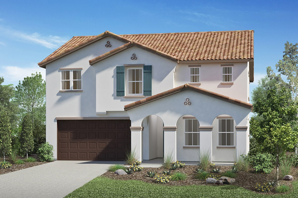 New Homes in San Diego, CA - Sea Cliff II Residence 2608 - Spanish 'A'