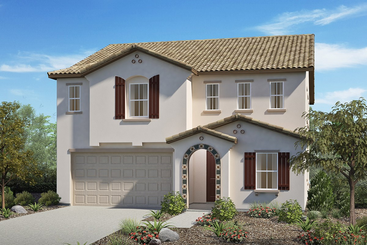 New Homes in San Diego, CA - Sea Cliff II Residence 2909 - Spanish 'A'