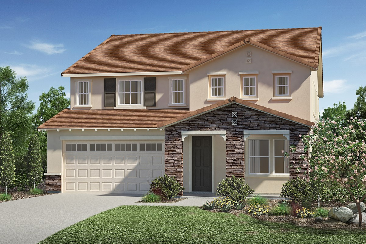 New Homes in San Diego, CA - Sea Cliff II Residence 3598 - Tuscan 'C'