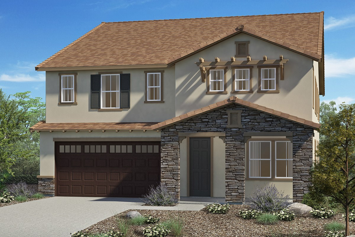 New Homes in San Diego, CA - Sea Cliff II Residence 3907 - Tuscan 'C'