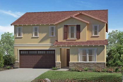 New Homes in San Diego, CA - Tuscan 'C'