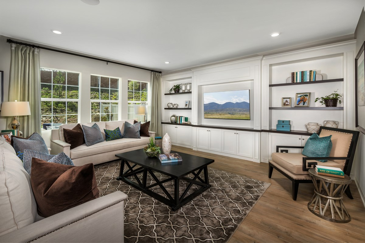 New Homes in San Diego, CA - Sea Cliff II Residence 2608 - Great Room 2