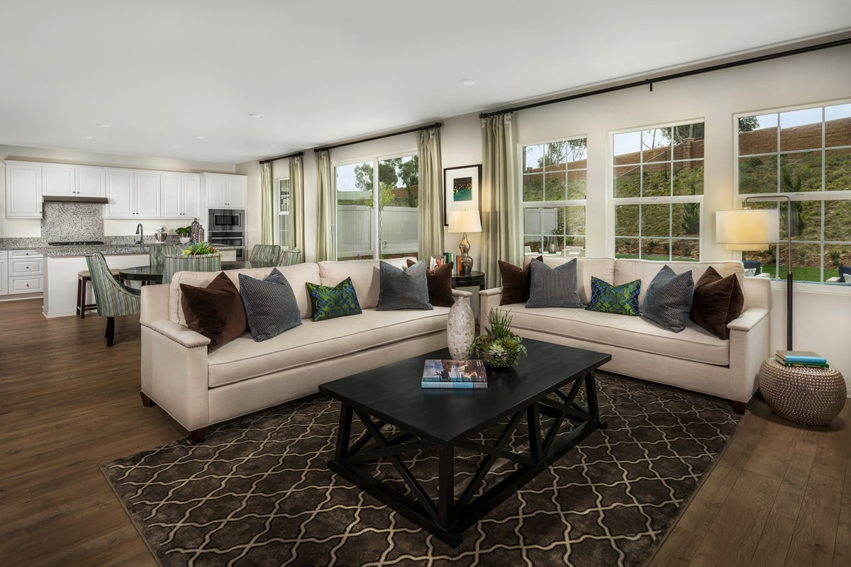 New Homes in San Diego, CA - Sea Cliff II Residence 2608 - Great Room