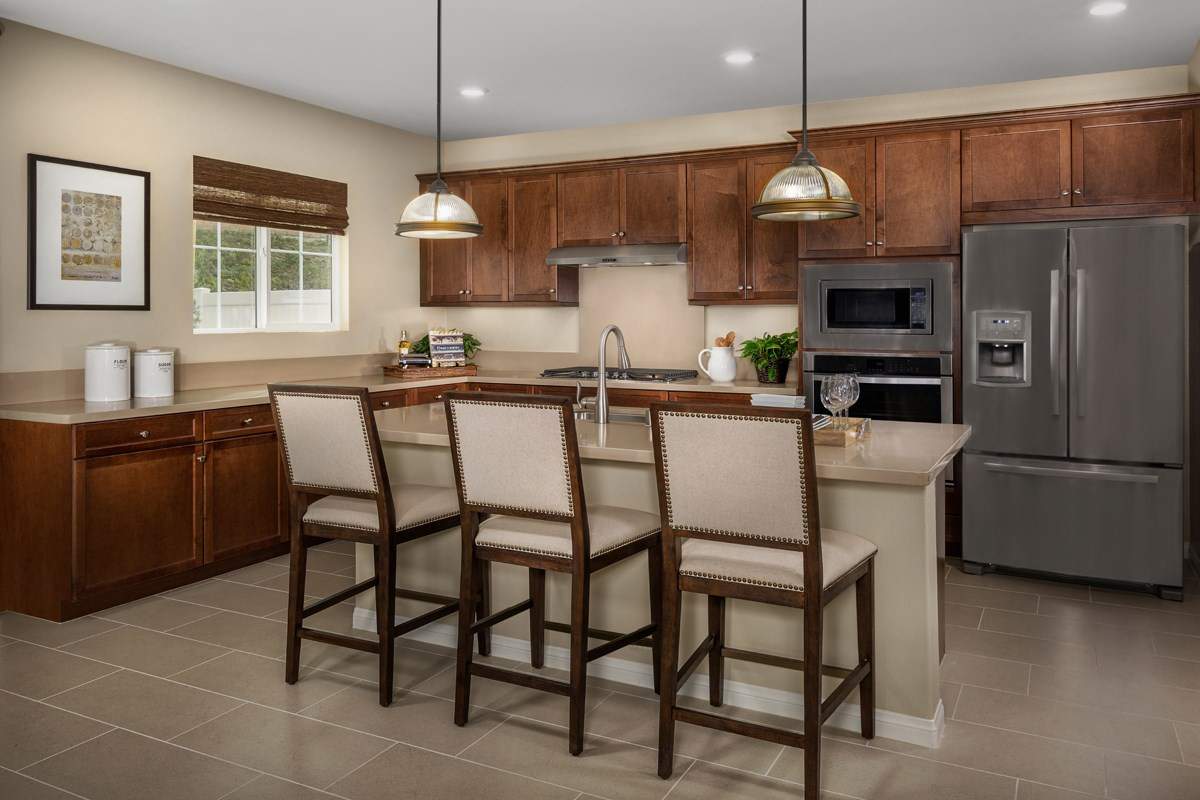 New Homes in San Diego, CA - Sea Cliff II Residence 2909 - Kitchen