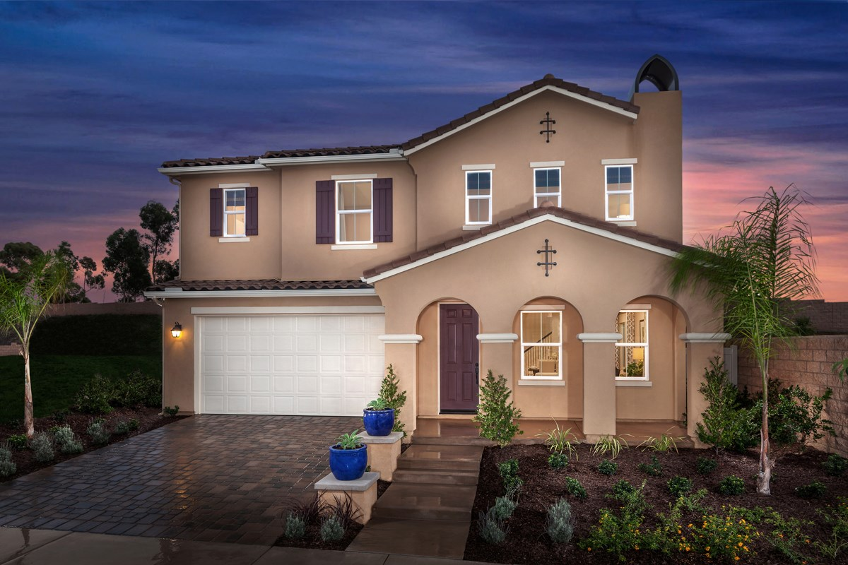 New Homes in San Diego, CA - Sea Cliff II Residence 3907 - Spanish 'A'