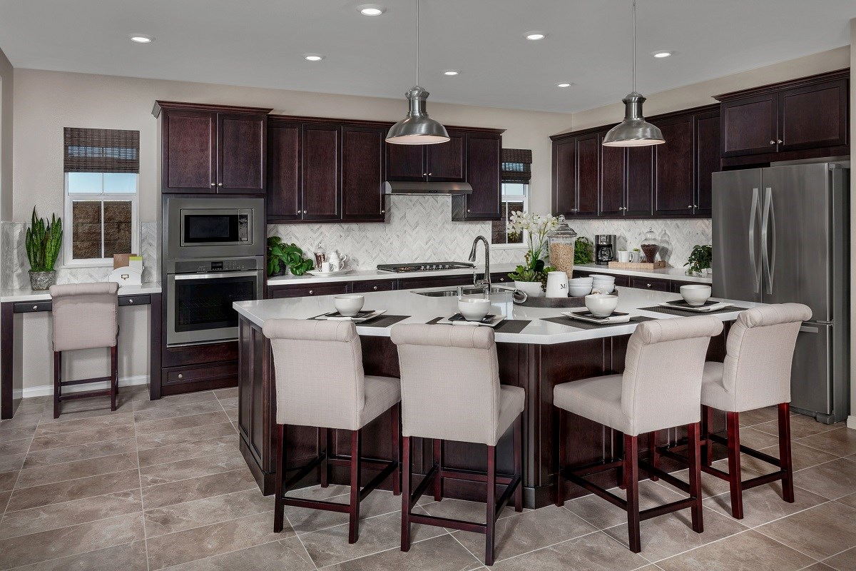 New Homes in San Diego, CA - Sea Cliff II Residence 3907 - Kitchen