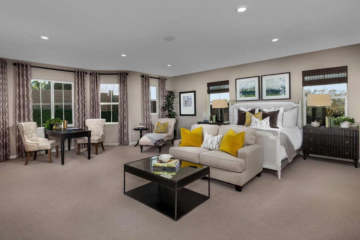 New Homes in San Diego, CA - Sea Cliff II Residence 3907 - Master Bedroom