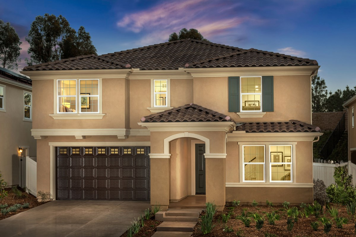 New Homes in San Diego, CA - Sea Cliff II Residence 2608 - Italianate 'B'
